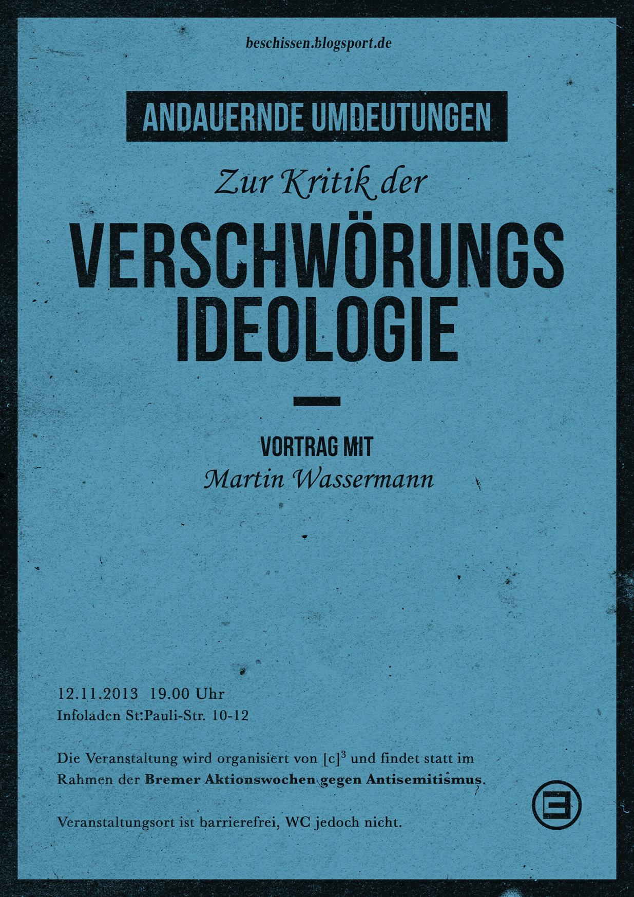 Martin Wassermann - Verschwörungsideologie